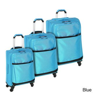 Heys USA Stratos 3 piece Spinner Luggage Set