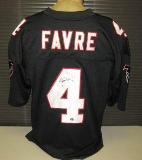 Brett Favre Autographed/Hand Signed Atlanta Falcons Jersey