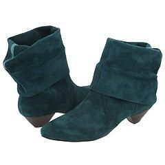 Nine West Quintera Turquoise Suede Boots