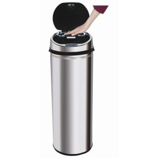 InVion 13.2 gallon Stainless Steel Touchless Automatic Trash Can