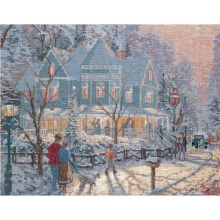 Gathering Counted Cross Stitch Kit 14X11 14 Count