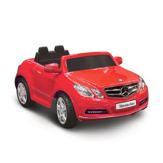Mercedes Benz E550 Red 1 seater Riding Toy