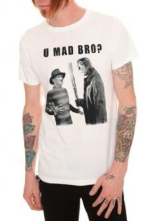 Freddy And Jason U Mad Bro? T Shirt Clothing