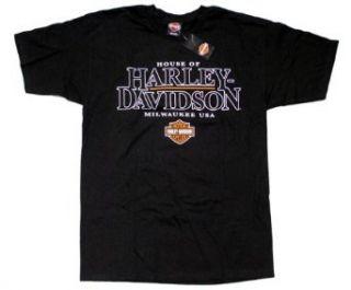 House of Harley Mens Short Sleeve T Shirt. Graphics