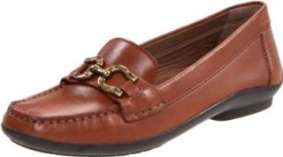 Geox Womens Donna Roma Penny Loafer,Cognac,38.5 EU/8.5 M US Shoes
