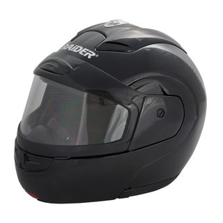 Raider Modular Black Snow Helmet