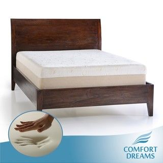 Comfort Dreams Dual Comfort 14 inch King size Memory Foam Mattress