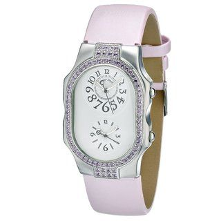 Philip Stein Womens Stainless Steel Dual time Watch