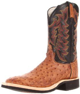 Tony Lama Boots Mens Full Quill Ostrich 8987 Boot Shoes