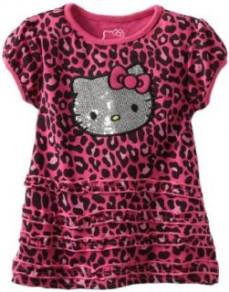 Hello Kitty Baby girls Infant Cheetah Print Dress, Very