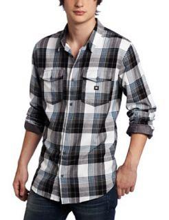DC Mens Hackelman Long Sleeve Shirt Clothing