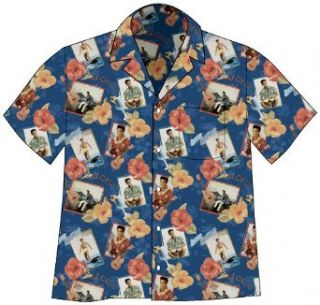 Elvis Presley Blue Hawaii Camp Hawaiian Shirt Clothing