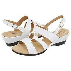 Softspots Clara Osso White Sandals