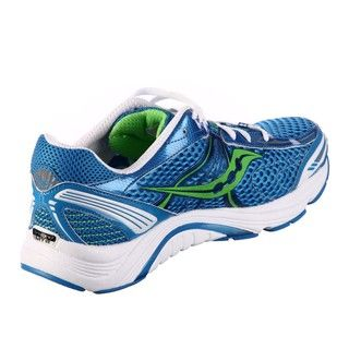 Saucony Womens ProGrid Mirage Blue/Green Technical Running Shoes