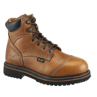 AdTec Mens Leather Comfort Work Boots