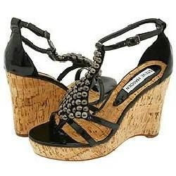 Steve Madden Vivvian Black Paris Sandals