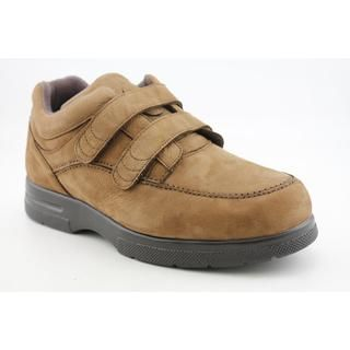 Drew Mens Velcro Traveler Nubuck Casual Shoes Wide