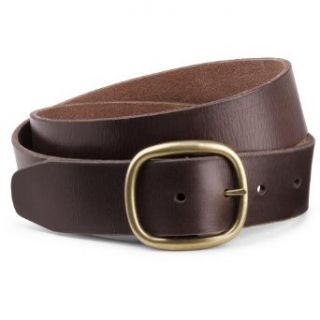 Eddie Bauer Classic Jeans Belt, Brown S Clothing