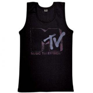 MTV   Logo Ladies Tank Top Clothing