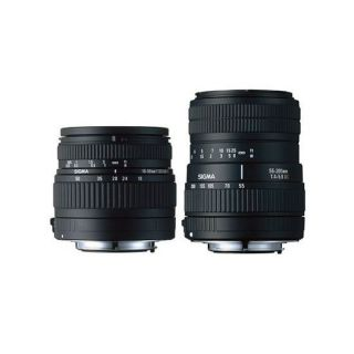 SIGMA double kit zoom 18 50mm F3,5 5,6 DC + zoom 5   Achat / Vente