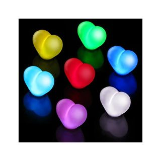 Multi color LED Heart shaped Light