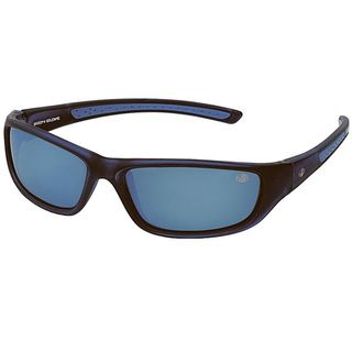 Body Glove Conchal B Mens Black/Blue Mirrored Polarized Sunglasses