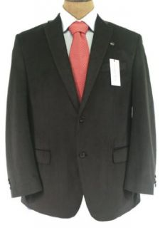 Calvin Klein Mens 2B Solid Black Sport Coat Jacket Blazer