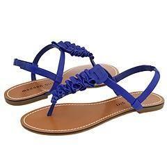 Madden Girl Motif Blue Paris Sandals