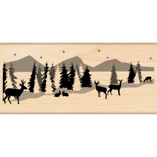 Penny Black Snowscape Rubber Stamp Today $13.29