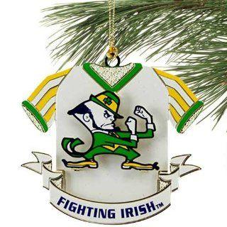 Notre Dame Fighting Irish Mascot Jersey Ornament: Sports