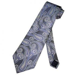 NeckTie BLUE Paisley Design Pattern Mens Neck Tie NEW