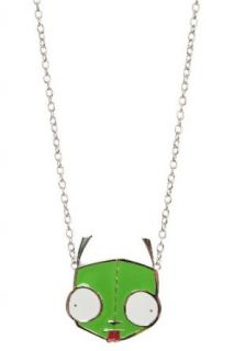 Invader Zim Gir Oversized Necklace Clothing