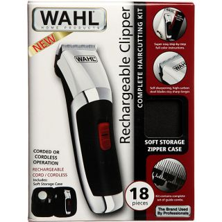 Wahl 18 piece Rechargeable Hair Clipper Kit