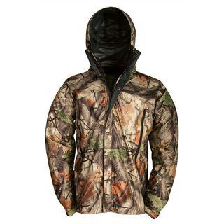 Wooden Trail Camo Rainsuit Jacket Big Game