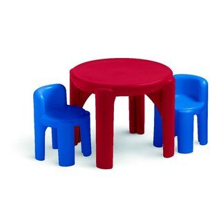 Table and Chairs Set  Primary Colors
