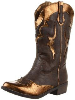 Steve Madden Giddyup Western Boot (Little Kid/Big Kid) Shoes