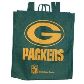 Sports Team Eco Friendly Tote Grocery Bag, Greenbay Packers Shoes