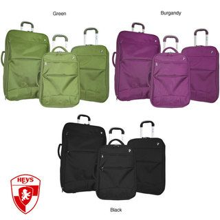 Heys Fuse X3 Hybrid 3 piece Luggage Set