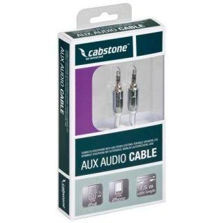 Câble audio Jack 3.5mm stéréo pour iPad iPod/iPhone, fiche chrome