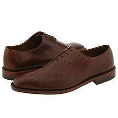 Allen Edmonds Greenwich Saddle Brown Leather Oxfords