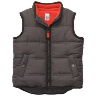 Carters Boys 4 7 Zip Bubble Vest (4) Clothing