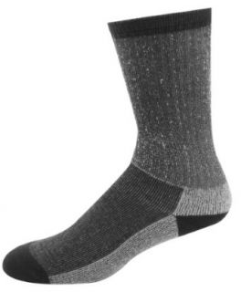 Timberland Mens Thermo Cool Crew Sockshosiery, Black, One