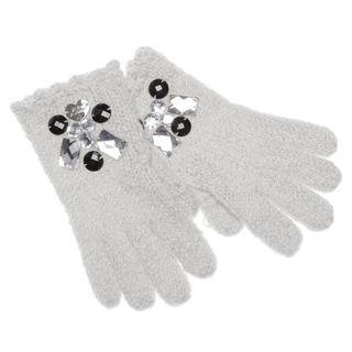 Betsey Johnson Womens Ice Princess Texting Gloves