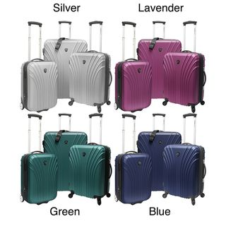 Travelers Choice TC8500 3 piece 18.5   22   28 inch Hardside Luggage