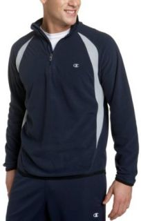 Champion Mens Doubly Dry Elevation 1/4 Zip, Vibe Navy