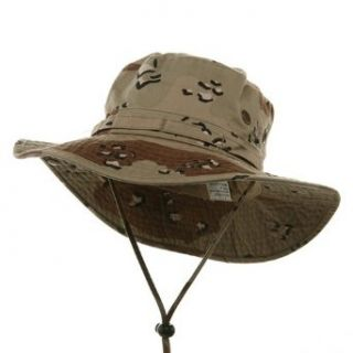 Washed Hunting Fishing Outdoor Hat Desert W11S41F