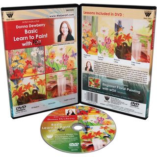 Donna Dewberry DVD Basic Learn To Paint With Oils