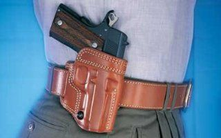 Galco Avenger Belt Holster Right Hand Tan 4.25 1911 AV266