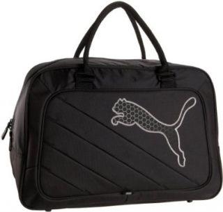 PUMA Big Cat Grip Bag Satchel,Black/Steel Grey,one size Shoes