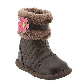 Little Girls Shoes Brown Fur Pansy Boots 3 12 Wee Squeak Shoes